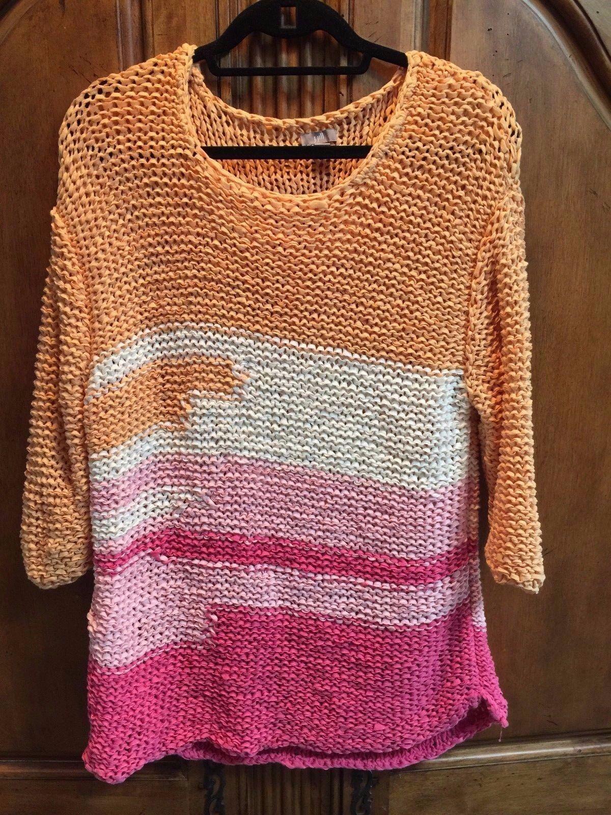 J. Jill Women's Multicolor Sweater Size XL New