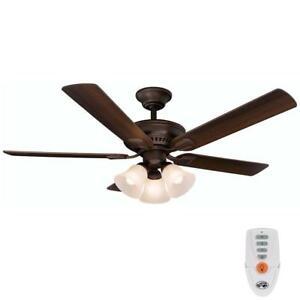 Indoor Bronze Finish Ceiling Fan REPLACEMENT PARTS Hunter Belmor 52 in