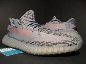 detailed look 659ca 4399e Details about ADIDAS YEEZY BOOST 350 V2 KANYE WEST BELUGA 2.0 SOLID GREY  ORANGE 500 AH2203 12