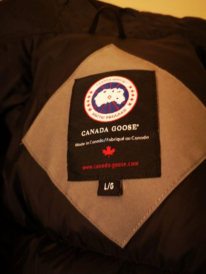 Vinterjakke, str. L, Canada goose