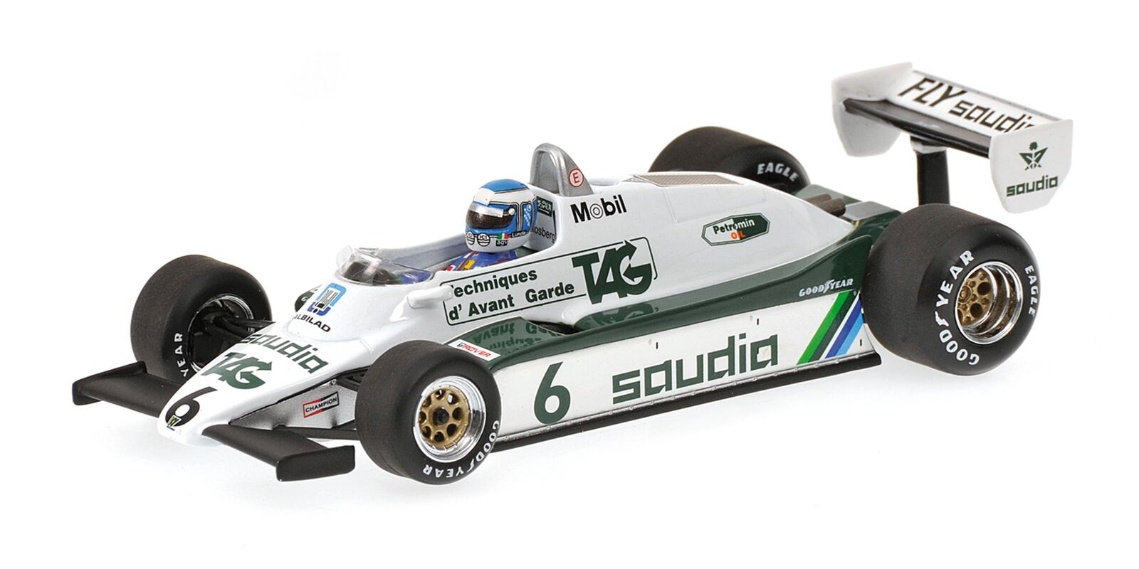 Williams Ford fw08 Keke Rosberg World Champion 1982 Minichamps 1  43 436820106  confortablement