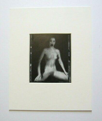 "David Bailey montato repro photo print 10 x 8/"" 1981 NP52 NUDO DONNA"