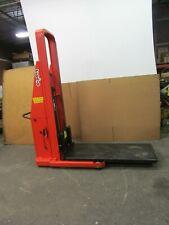 Presto Lifts B874 1500 200lbs Capacity Manual Driveamp12 Volt Powered Lift Stacker