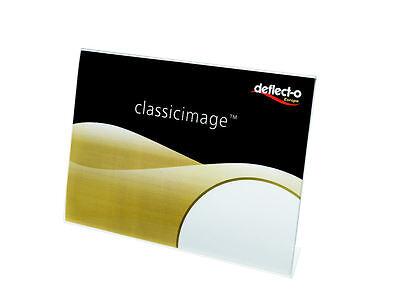 Di Carattere Dolce 50 X A7 Deflecto Paesaggio Nome Angolati Inserire/menu/poster Titolare-defa 7 L-mostra Il Titolo Originale
