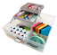 Sewing Supply Organizer or Embroidery Thread Storage Crafts Art Clear Tray Box