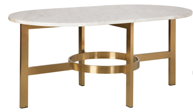 Groovy Versailles 42 White Marble Top Coffee Table With Antique Brass Base Caraccident5 Cool Chair Designs And Ideas Caraccident5Info