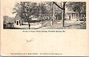 Antique Siloam Spring Excelsior Springs MO Postcard | eBay