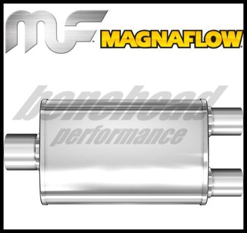 MagnaFlow Muffler Trb SS 4X9 14 2.25//2.