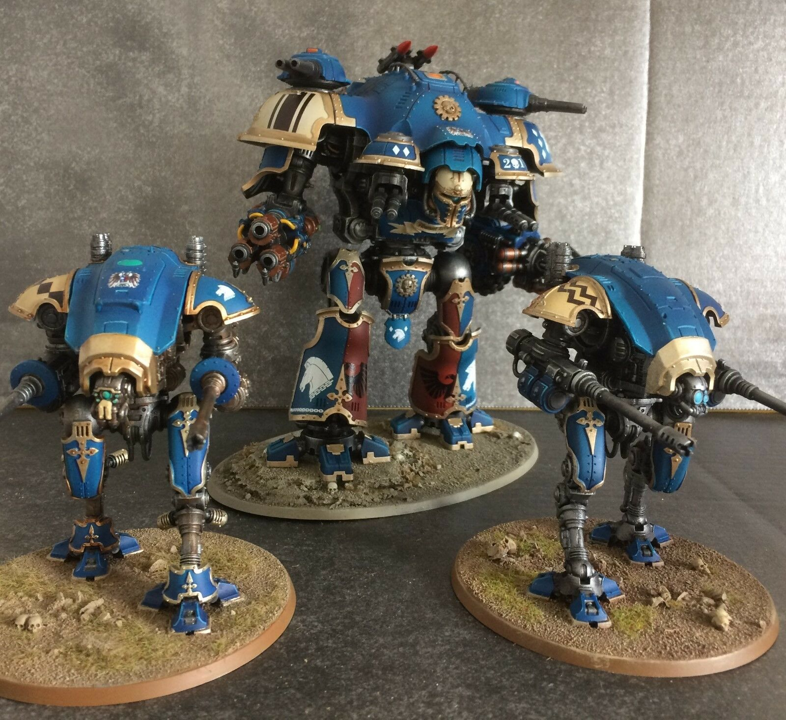 Imperial Knights-Milady, Vaillant, d'autres Variantes-commisions