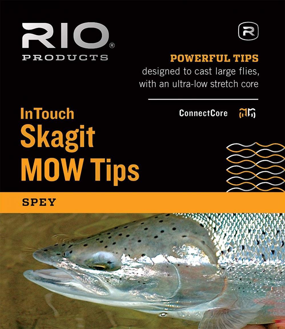 RIO Fly Fishing InTouch Skagit MOW, Light Tip, 10' T-8 Line, Red
