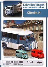Schreiber-Bogen Kartonmodellbau Citroën H