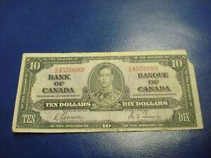 1937-Bank-of-Canada-10-note-ten-dollar-bill-SD4550089