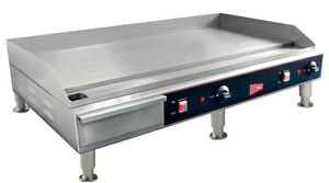 "countertop electric griddle 36"" restaurant kitchen"