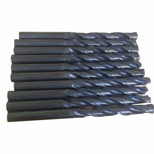 10pcs 9mm Micro HSS Straight Shank Twist Drilling Bits Electrical Drill Tool US