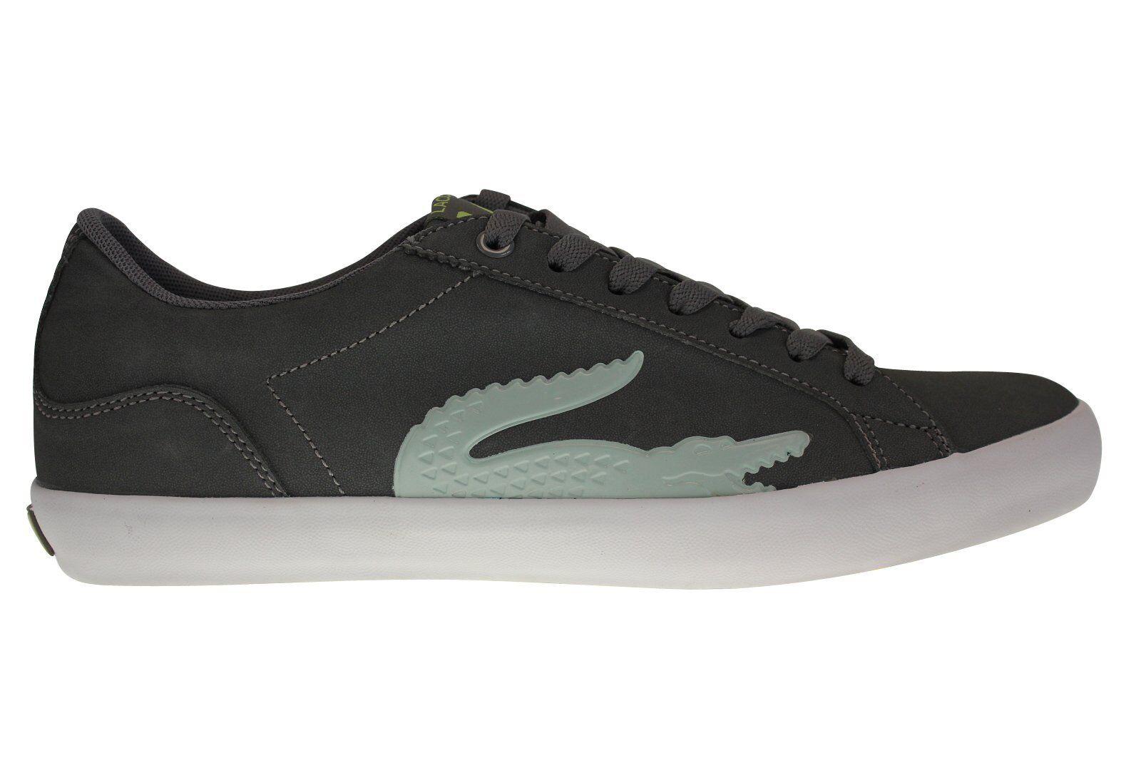 Lacoste Schuh Lerond SC NEU Herren Schuh Lacoste Grau Freizeit Sneaker Golf Polo 33894e