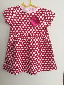 6M New Baby Girls Summer Dress Size:00 9-12M