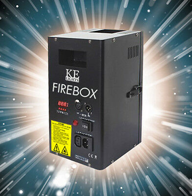 "2x DMX Flammenprojektor ""FIREBOX"", Flammeneffekt bis 3,5m  inkl Flightcase"