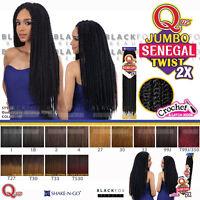Que Jumbo Senegal Twist 2x - Crochet Bulk Braiding Hair Havana Mambo Style