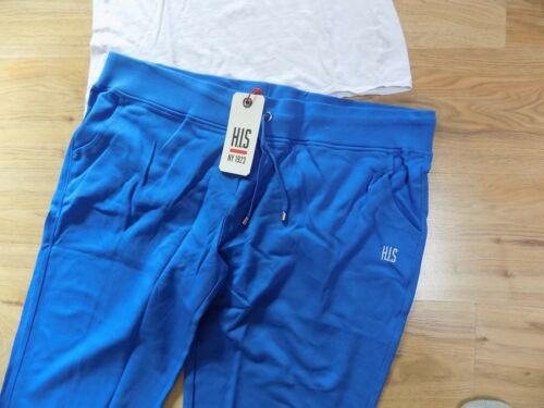 52//54 Hose Sporthose Fittness NEU 90f Jogginghose Relaxhose Gr H.I.S