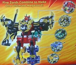 Power rangers jungle fury ultimate megazord disney store exclusive image is loading power rangers jungle fury ultimate megazord disney store voltagebd Image collections