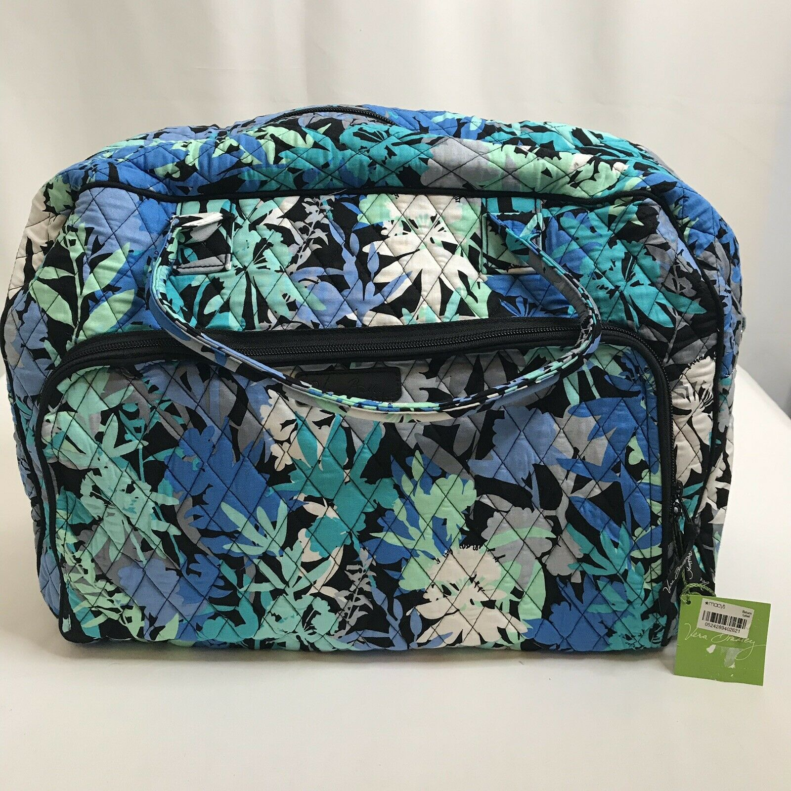Vera Bradley Camofloral Weekender New With Tags For Sale Online