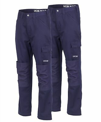 Various Sizes Mens Trouser Tuffstuff Pro Trade TWIN PACK Work Trousers Navy