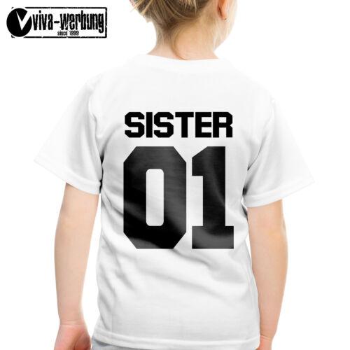 Sister 01 t-shirt Best Friends amigos t-shirt para mejor amigas sis pareja