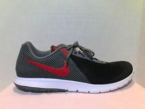 ca68401cefa3 Nike Flex Experience RN 6 Black Grey Red White 881802-011 Men s ...