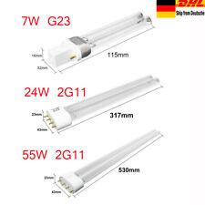 G23-11W UV-C sostituzione bruciatore della lampada PURITEC HNS S 2 pezzi Lampada OSRAM UVC