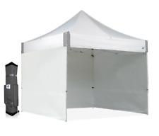 E-Z UP ES100s 10u0027X10u0027 Vendor White Canopy With Sidewalls  sc 1 st  eBay & E-z up Express II Sidewalls for 10x10 Canopy 2 White Polyethlene ...