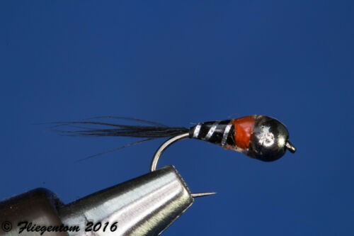 3 Piece fliegentom PERDIGON Nymphe//Nymphs No 9