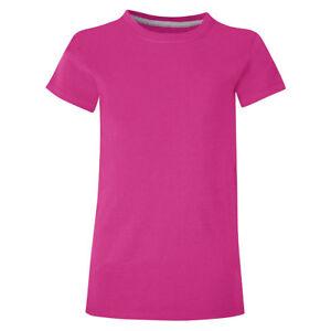 2-Hanes-Girls-039-Basic-Tee-Shirts-K010