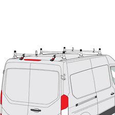 Ford Transit Cargo Van 2015-2016 3 Bar Silver Aluminum Ladder Roof Rack System