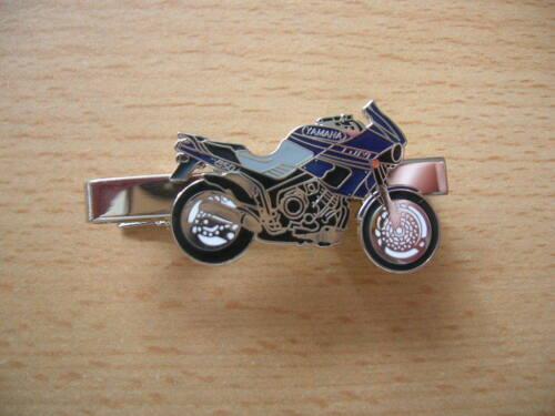 Krawattenklammer Yamaha TDM 850 TDM850 blau//schwarz Motorrad Art 0139 K