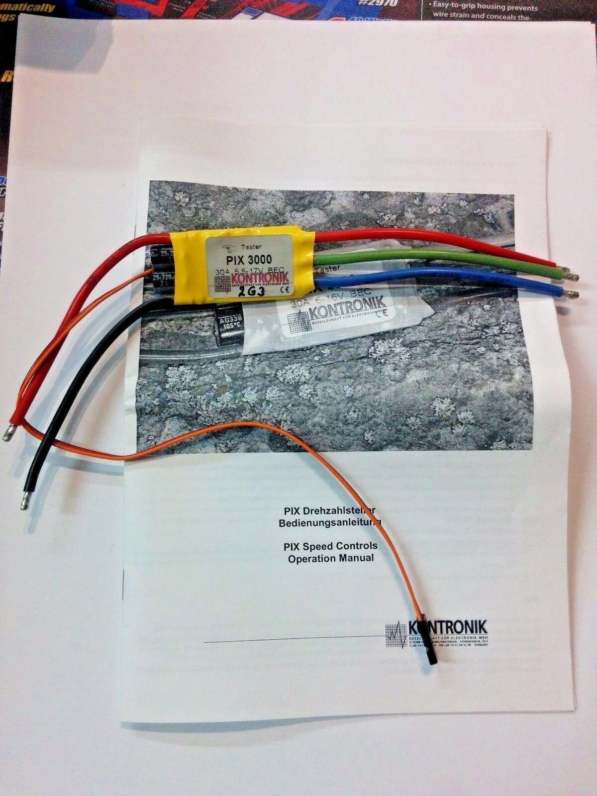 Kontronik Kontronik Kontronik PIX 3000 ESC 4302 b60633