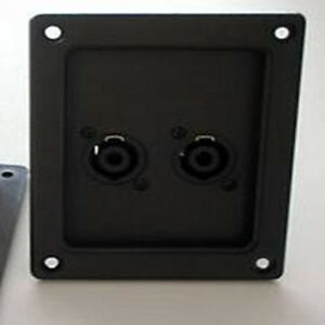 Speaker-Amplifier-Speaker-Speak-On-Box-Audio-Connector-Plate-Patch-Panel-Kit
