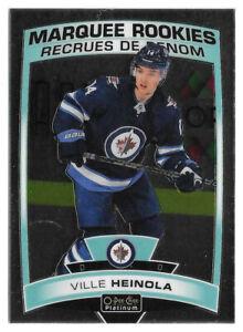 2019-20 Ville Heinola O-Pee-Chee OPC Platinum Marquee Rookie - Winnipeg Jets