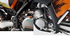 NEW KTM BLACK FRAME PROTECTION GUARDS SX SXF XC XC-W EXC 2012-2015 77203094000