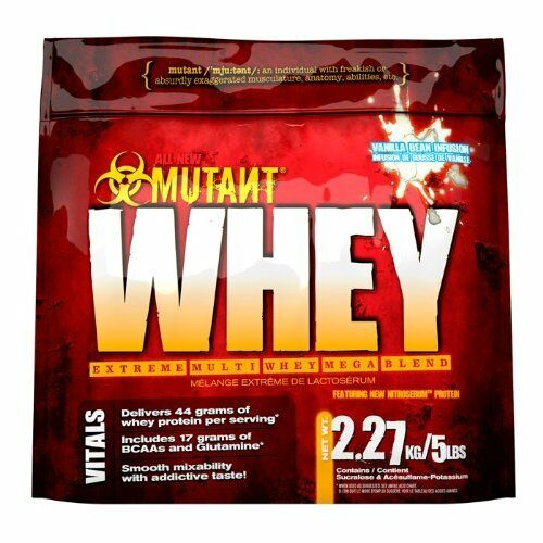 PVL Mutant Whey 2.2Kg. 5 5 2.2Kg. whey blend giving 44g protein + BCAA's, glutamine 4f6e05