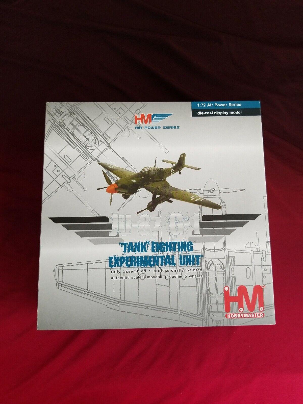 Hobby Master 1 72 Air Power Series HA0110 Tyska Ju-87-D1, Experimäntell enhet