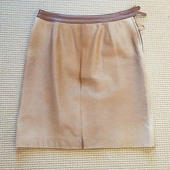 RARE Carlisle calf hair skirt size  US 6