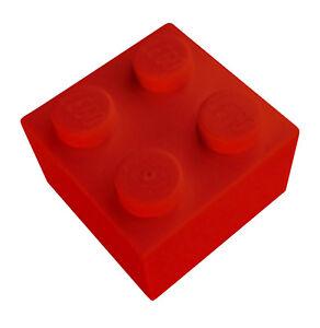 Lego-50-Stueck-rote-Steine-2x2-3003-Neu-Stein-in-rot-Basicsteine-Bausteine-City