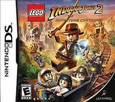 LEGO Indiana Jones 2:The Adventure Continues (Nintendo DS, 2009), In Orig Pkg.