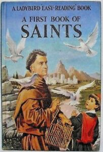 Vintage-Ladybird-Book-A-First-Book-of-Saints-606A-2-039-6-Near-Mint-Condition