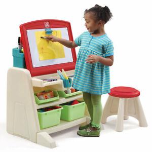 Flip-amp-Doodle-Easel-Desk-Stool-Step2-Creative-Art-and-Craft-Table-Kids
