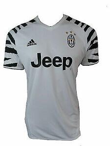 quality design 34256 c7c14 adidas JUVENTUS 16/17 3rd Shirt Zebra Soccer Jersey Football Ap8906  W/nameset XS