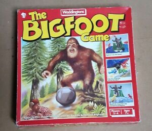 The-BIGFOOT-Board-Game-Waddingtons-1980-039-s-Vintage-Retro