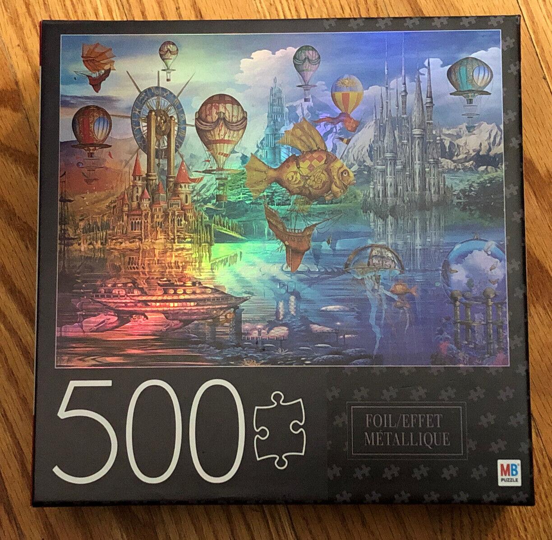 Puzzle Clock 150 pcs Santoro Faerie Folk