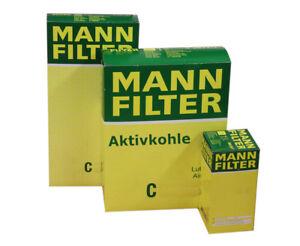 MANN Filtersatz Öl,Luft,Innenraum aktivkohle für MERCEDES