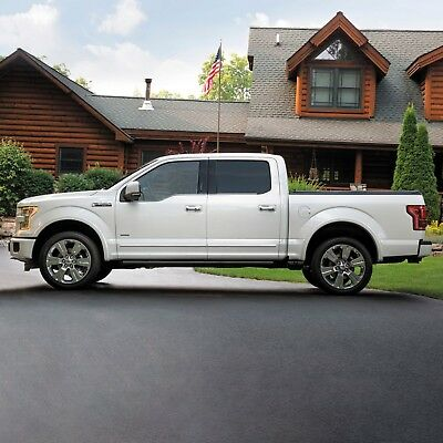 Super Crew Cab >> Chrome Body Side Moldings Trim Mouldings For Ford F 250 Super Crew Cab 2017 2020 Ebay